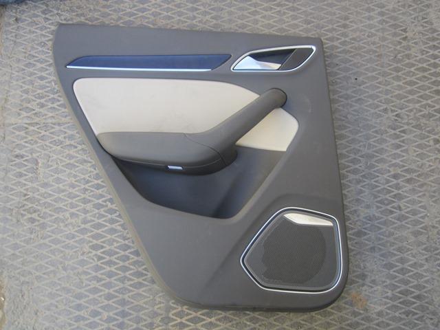 Обшивка двери Audi Q3 8U 2012 задняя левая (б/у)