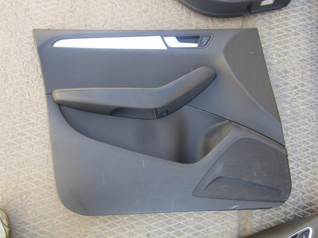 Обшивка двери Audi Q5 2008 передняя левая (б/у)