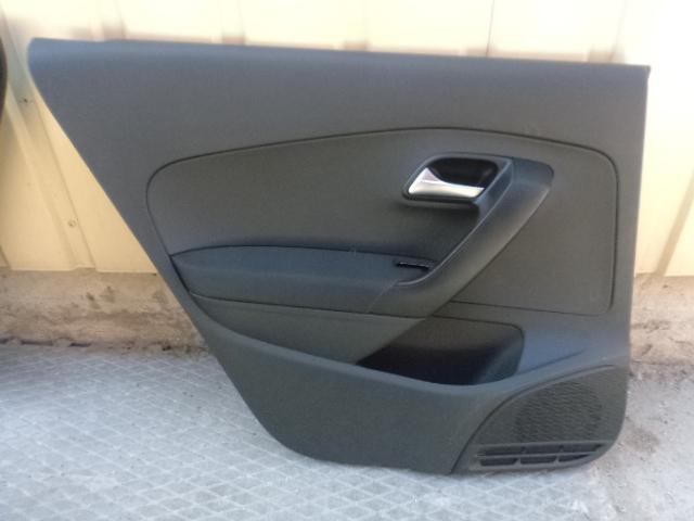 Обшивка двери Volkswagen Polo 6R 2010 задняя левая (б/у)