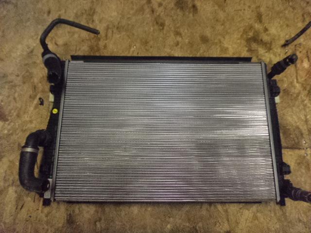 Радиатор охлаждения Skoda Octavia 5E 2013 (б/у)