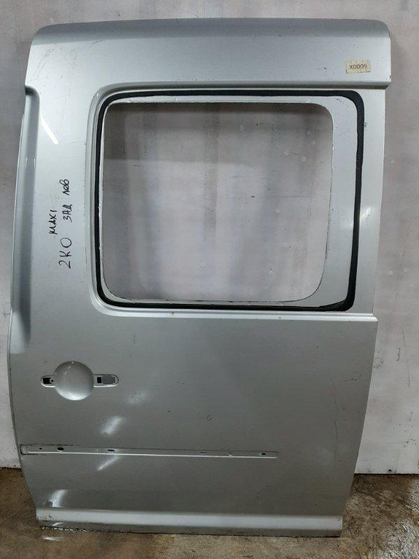 Дверь Volkswagen Caddy 2K 2004 задняя левая (б/у)