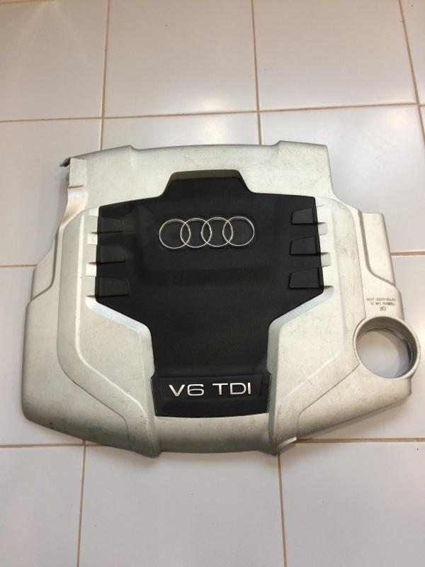 Крышка двс декоративная Audi Q5 8R 2009 (б/у)