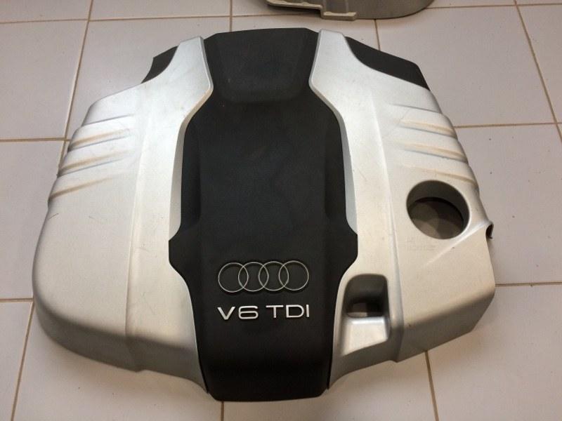 Крышка двс декоративная Audi Q7 4L 2007 (б/у)