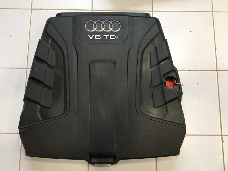 Крышка двс декоративная Audi Q7 4M (б/у)