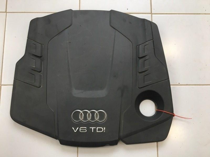 Крышка двс декоративная Audi A6 4G (б/у)