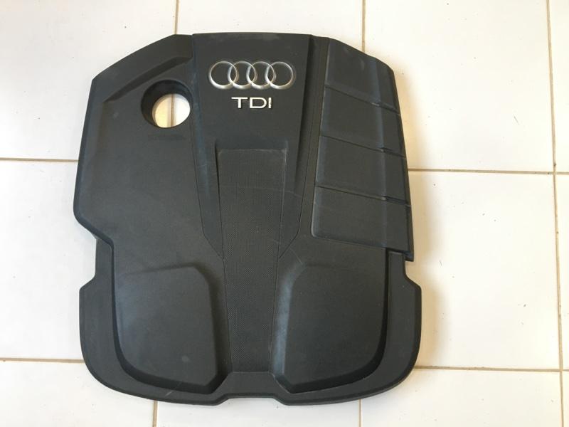 Крышка двс декоративная Audi A4 8W (б/у)