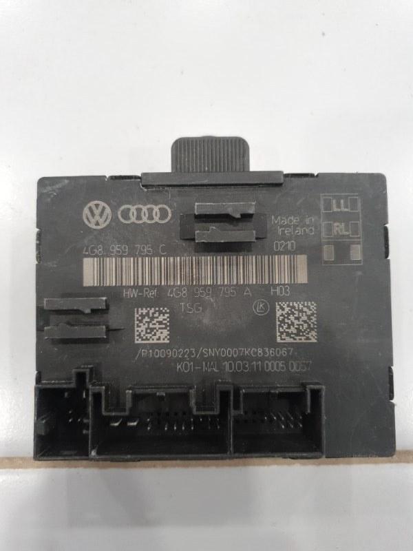 Блок управления двери Audi A7 4G8 2010 задний (б/у)