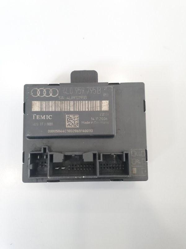 Блок управления двери Audi Q7 4L 2007 задний левый (б/у)