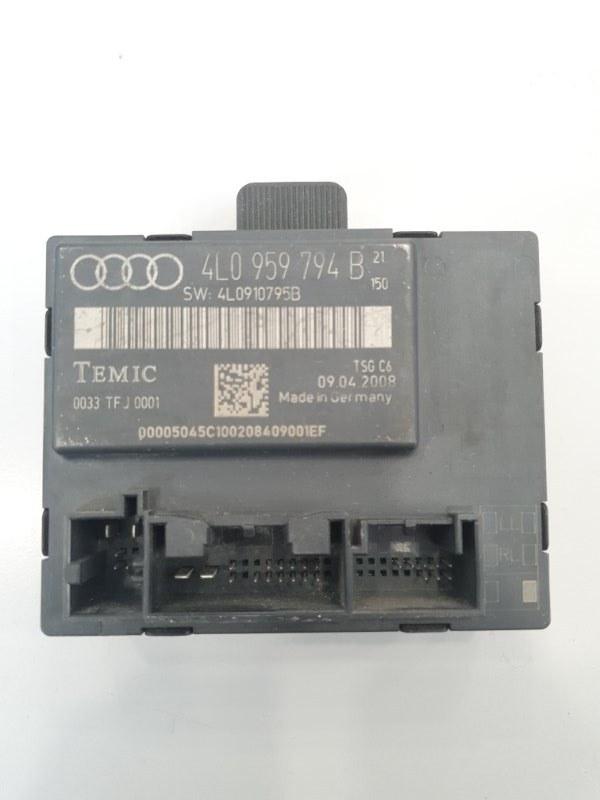Блок управления двери Audi Q7 4L 2007 задний правый (б/у)