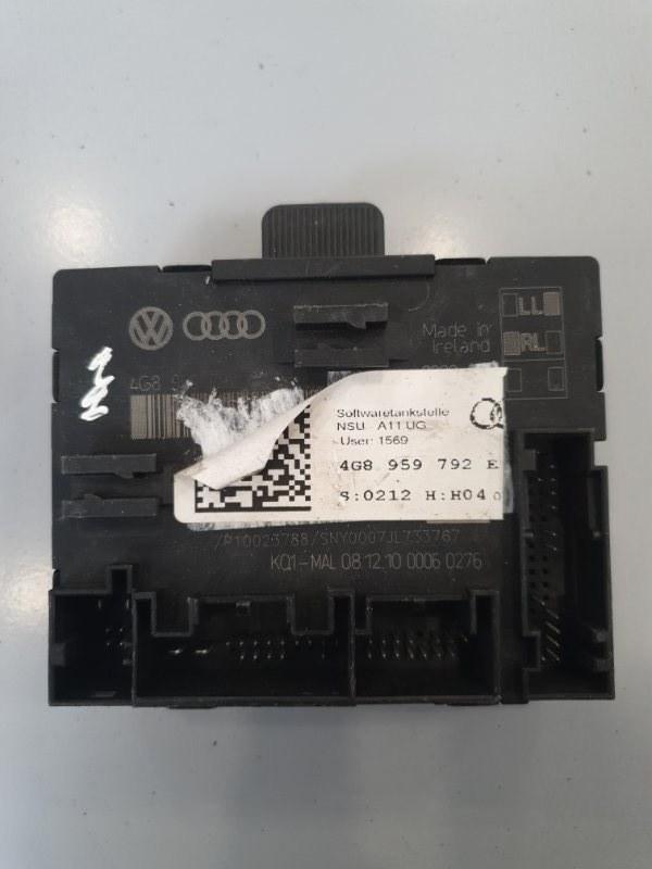 Блок управления двери Audi A7 4G8 2010 передний правый (б/у)