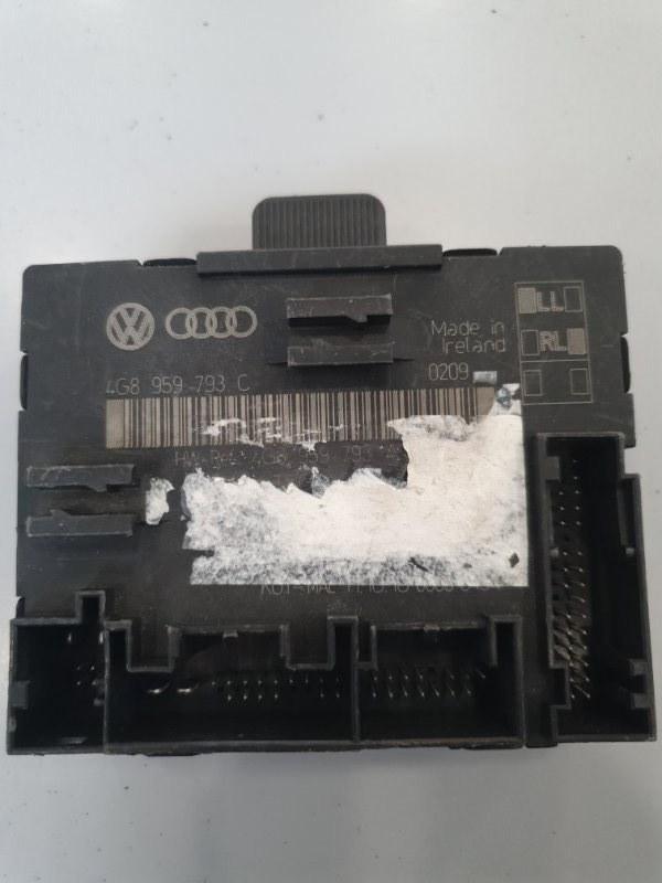 Блок управления двери Audi A7 4G8 2010 передний левый (б/у)