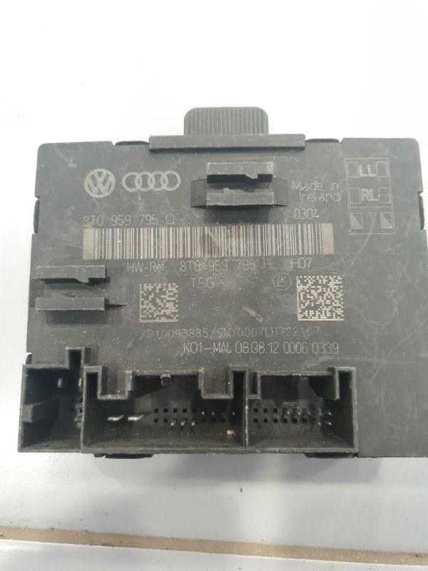 Блок управления двери Audi A4 8K 2008 задний (б/у)