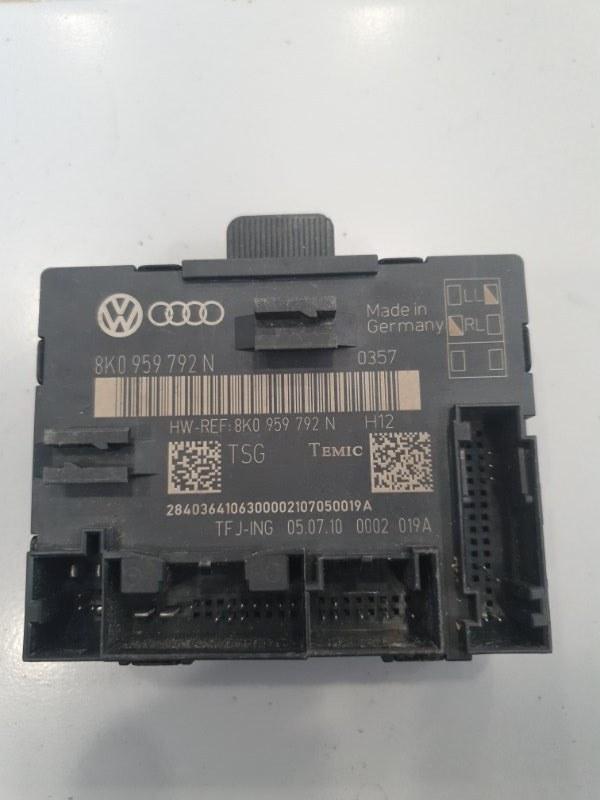 Блок управления двери Audi A4 8K 2008 передний правый (б/у)