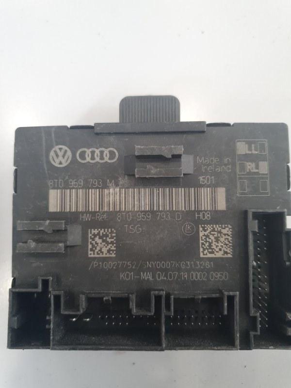 Блок управления двери Audi A4 8K 2008 передний левый (б/у)