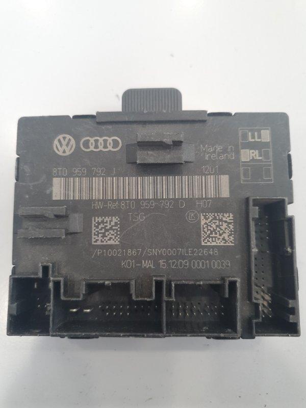 Блок управления двери Audi A5 8T 2008 передний правый (б/у)