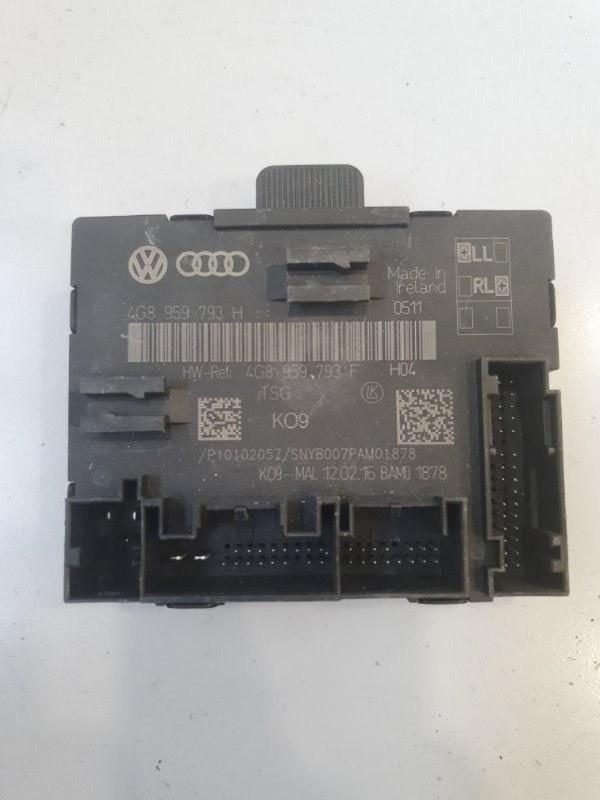 Блок управления двери Audi A7 4G8 2011 передний левый (б/у)