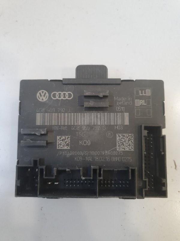 Блок управления двери Audi A7 4G8 2011 передний правый (б/у)