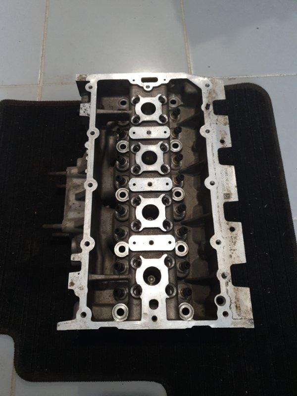 Головка блока цилиндров Volkswagen Polo 6R 2010 (б/у)