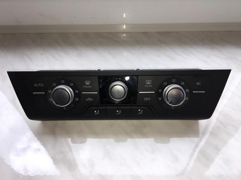 Блок управления климат контроля Audi A6 4G 2011 передний (б/у)