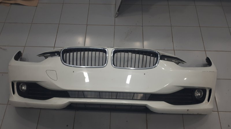 Бампер Bmw 3-Series F30 2.0 N47D20C 2011 передний (б/у)