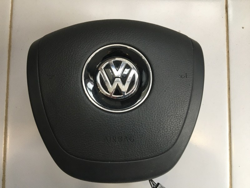 Подушка безопасности в руль Volkswagen Touareg 7P 2010 (б/у)