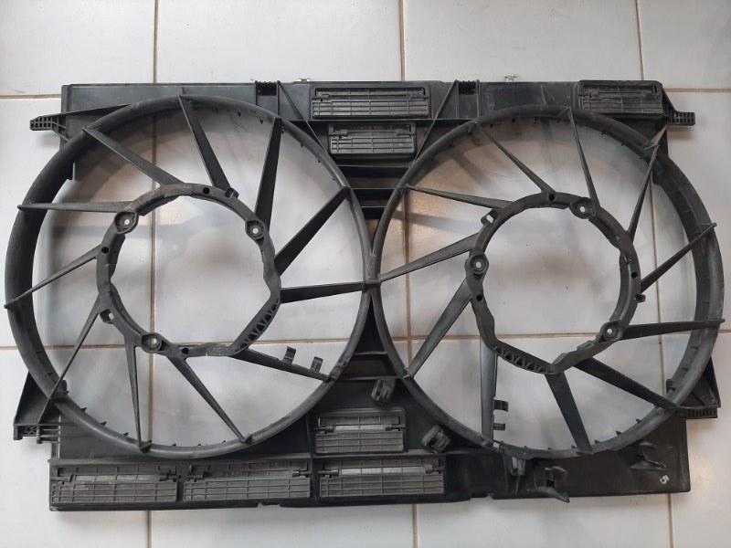 Диффузор вентиляторов Audi Q7 4M 2015 передний (б/у)