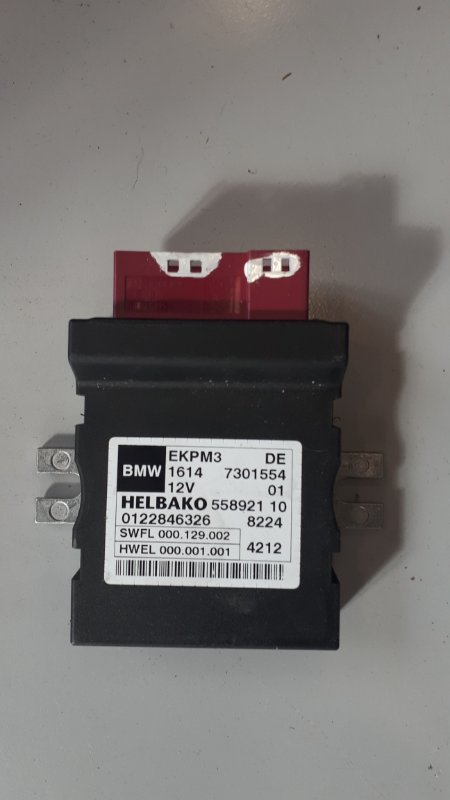Блок управления топливным насосом Bmw 3-Series F30 2.0 N47D20C 2011 (б/у)