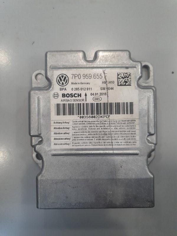 Блок srs Volkswagen Touareg 7P 2010 (б/у)