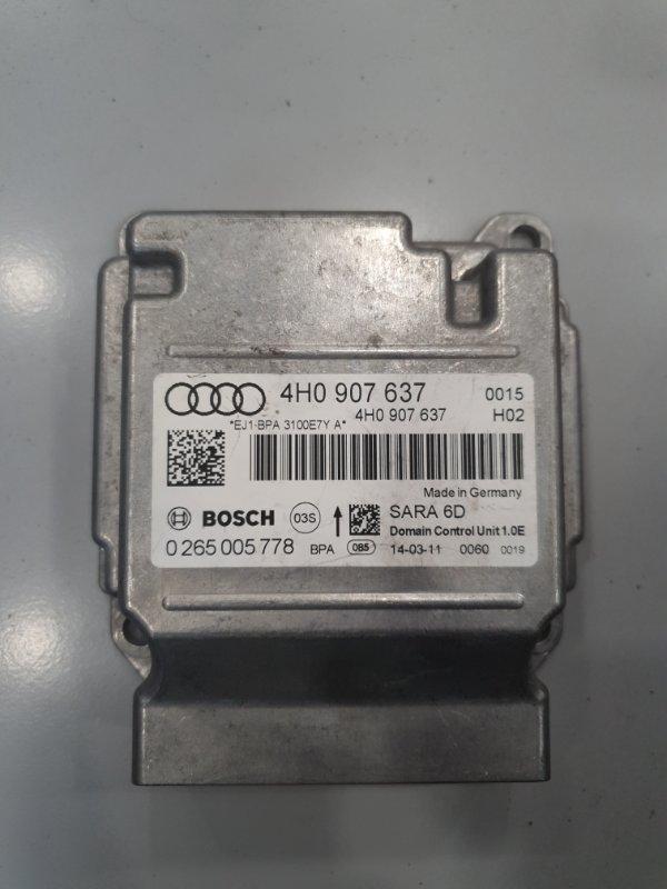 Датчик ускорения Audi A8 4H 2010 (б/у)