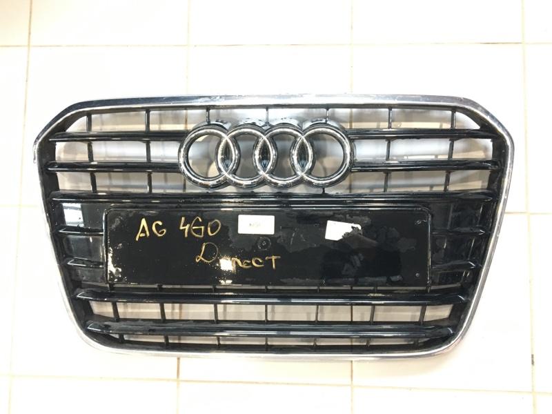 Решетка радиатора Audi A6 4G 2011 (б/у)