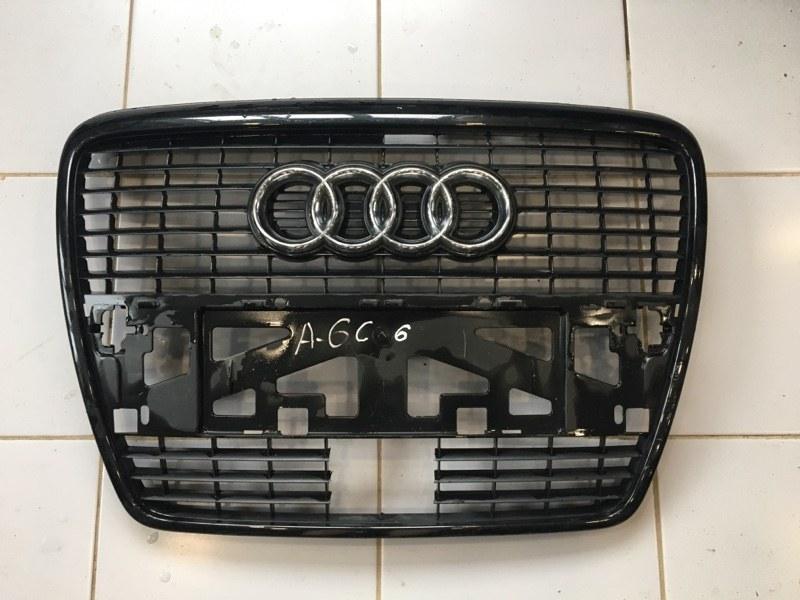 Решетка радиатора Audi A6 4F 2005 (б/у)