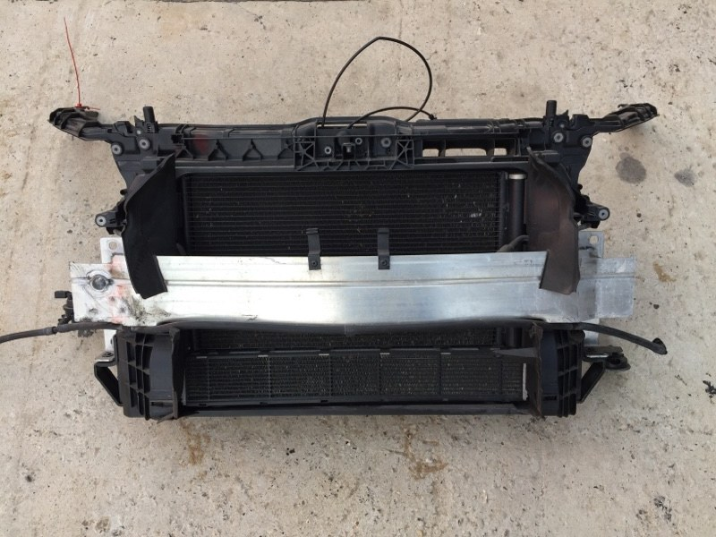 Кассета радиаторов Audi A1 8X 1.4 TSI 2010 (б/у)