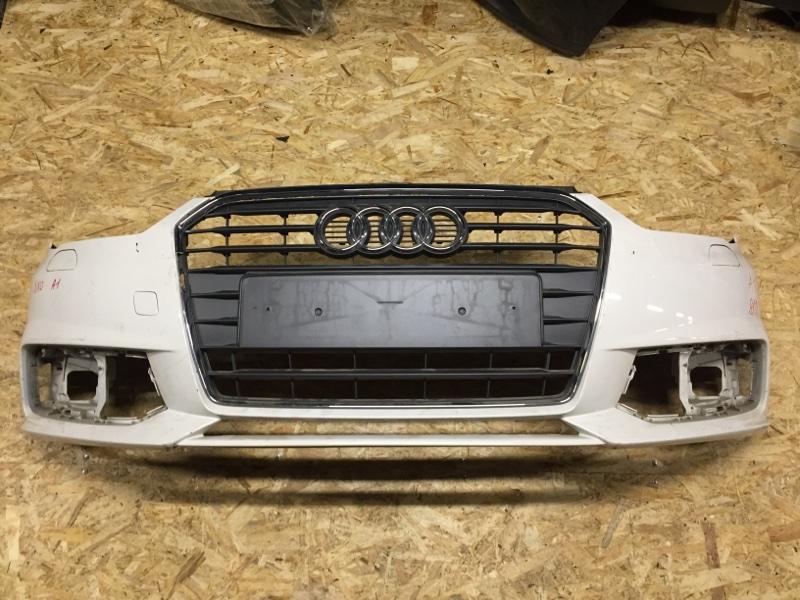 Бампер Audi A1 8X 2010 передний (б/у)