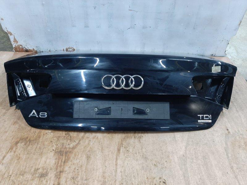 Крышка багажника Audi A8 4H 2009 (б/у)