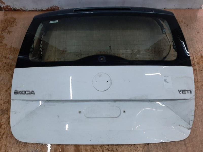 Крышка багажника Skoda Yeti 5L 2009 (б/у)