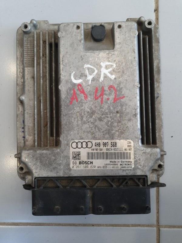 Блок управления двигателем Audi A8 4H 2010 (б/у)