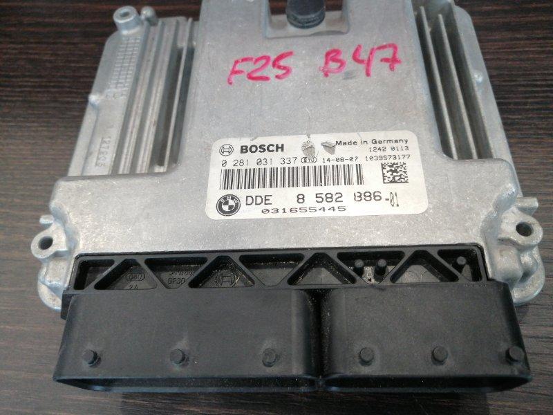 Эбу dde Bmw X3 F25 2010 (б/у)