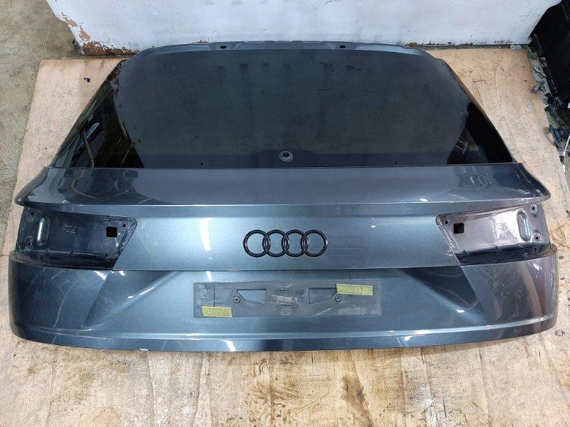Крышка багажника Audi Q7 4M 3.0 CRT 2016 задняя (б/у)
