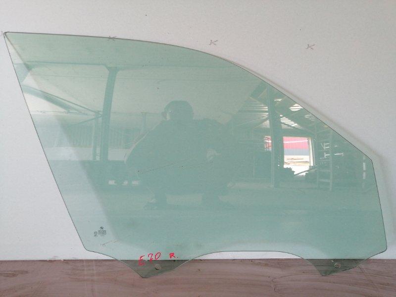 Стекло двери Bmw X5 E70 2007 переднее правое (б/у)