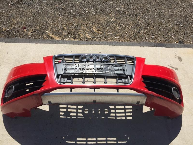 Бампер Audi A4 8K 3.0 CAK 2008 передний (б/у)