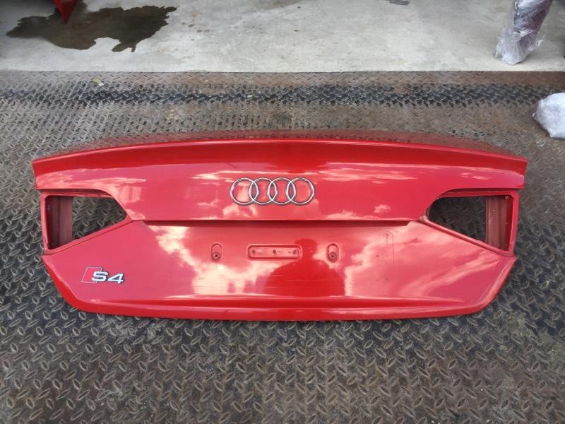 Крышка багажника Audi A4 8K 3.0 CAK 2008 (б/у)