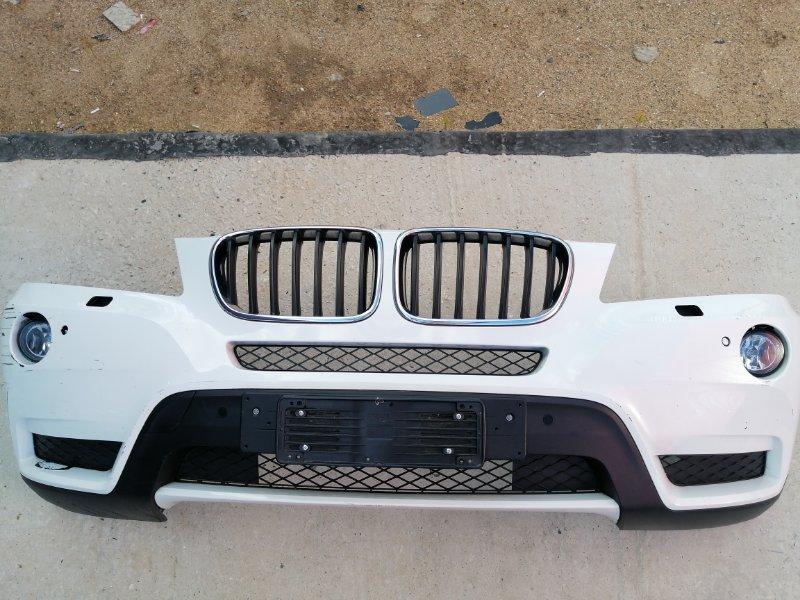 Бампер передний Bmw X3 F25 2.0 N47D20C 2012 передний (б/у)