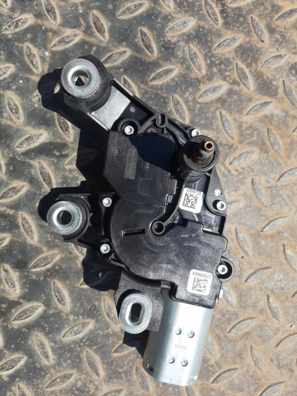 Мотор стеклоочистителя Audi Q7 4M 3.0 CRT 2016 задний (б/у)
