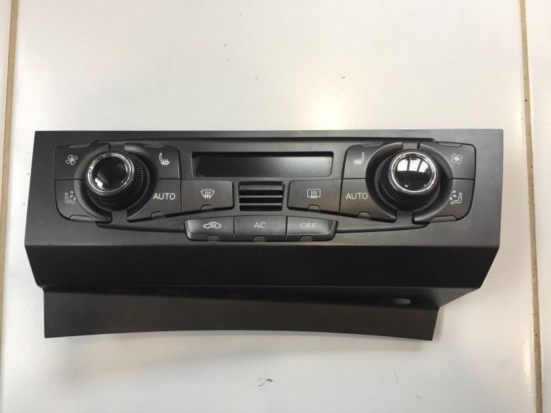 Блок управления климат контроля Audi A4 8K 3.0 CAK 2008 (б/у)