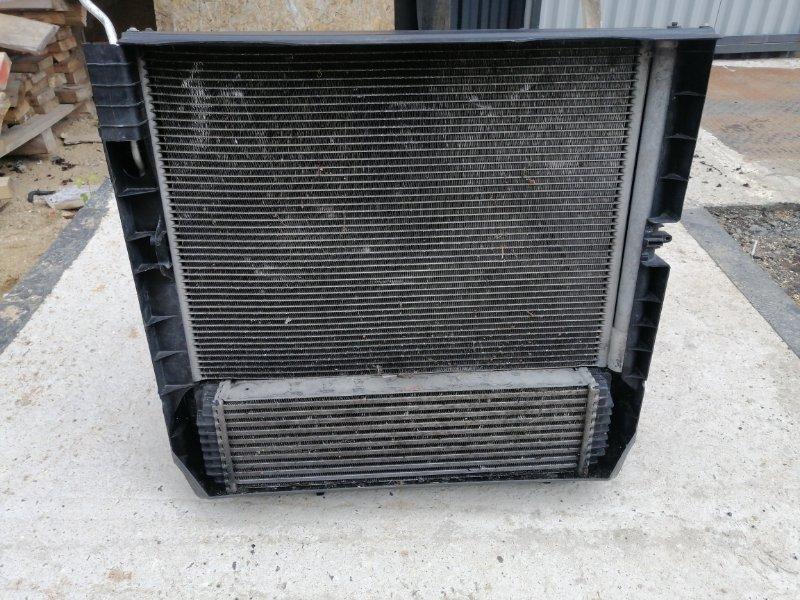 Кассета радиаторов Bmw X5 E70 4.0 N57D30B 2009 передняя (б/у)