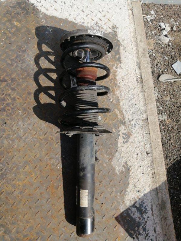 Стойка амортизатора Bmw X3 F25 2.0 N47D20C 2012 передняя левая (б/у)