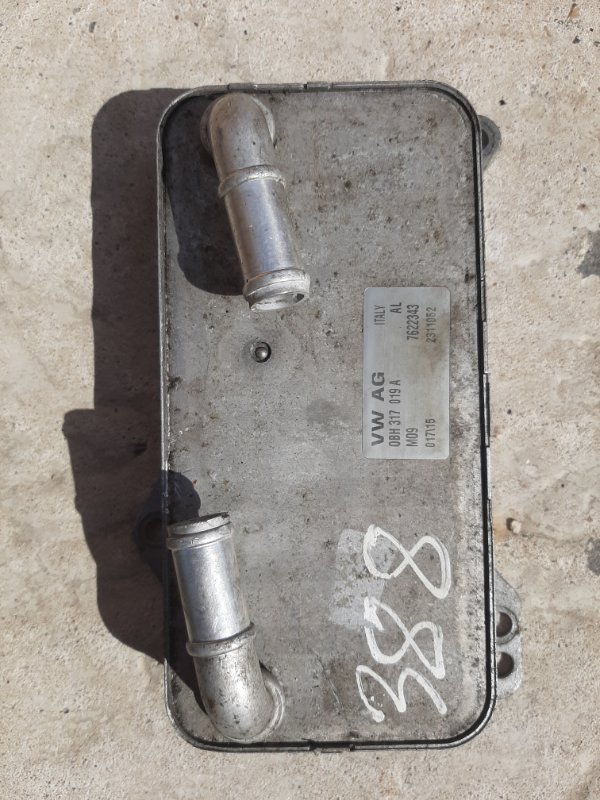 Масляный охладитель Volkswagen Tiguan 5N 2007 (б/у)