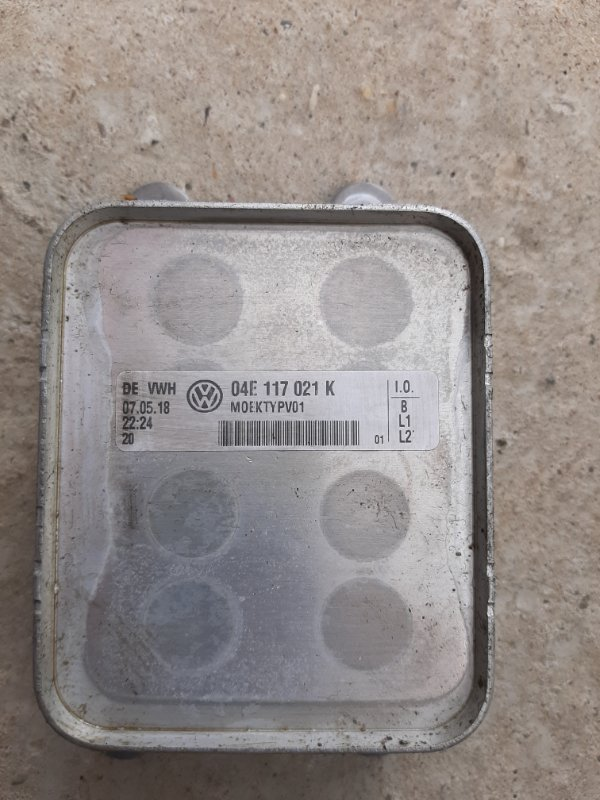 Масляный охладитель Volkswagen Golf 5G 1.4 TSI 2012 (б/у)