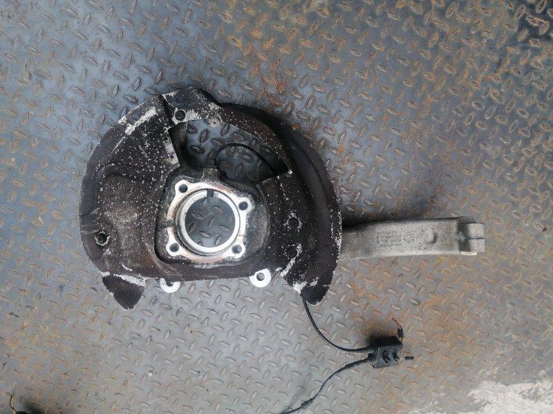 Кулак поворотный Bmw X5 E70 4.0 N57D30B 2009 передний левый (б/у)