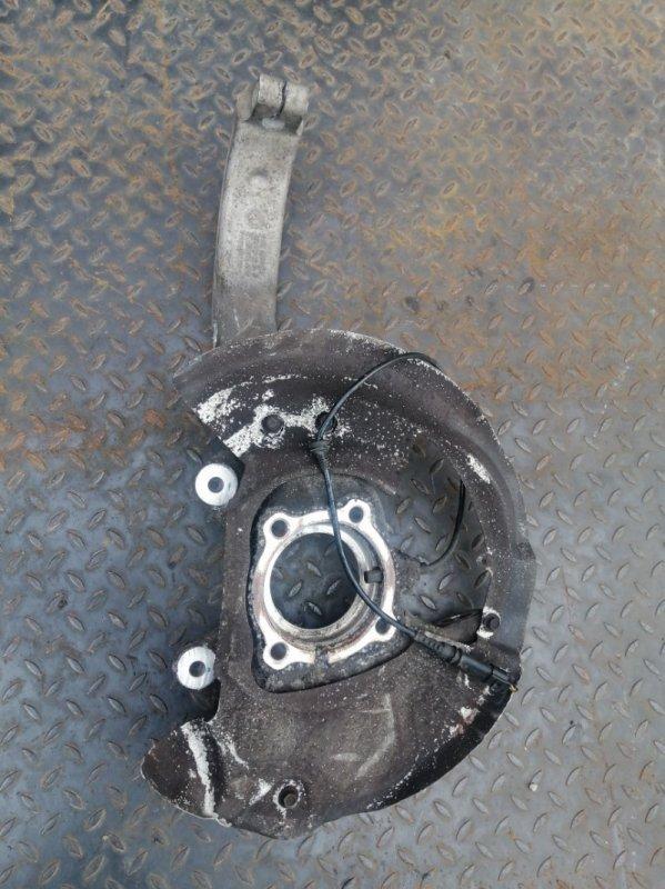 Кулак поворотный Bmw X5 E70 4.0 N57D30B 2009 передний правый (б/у)